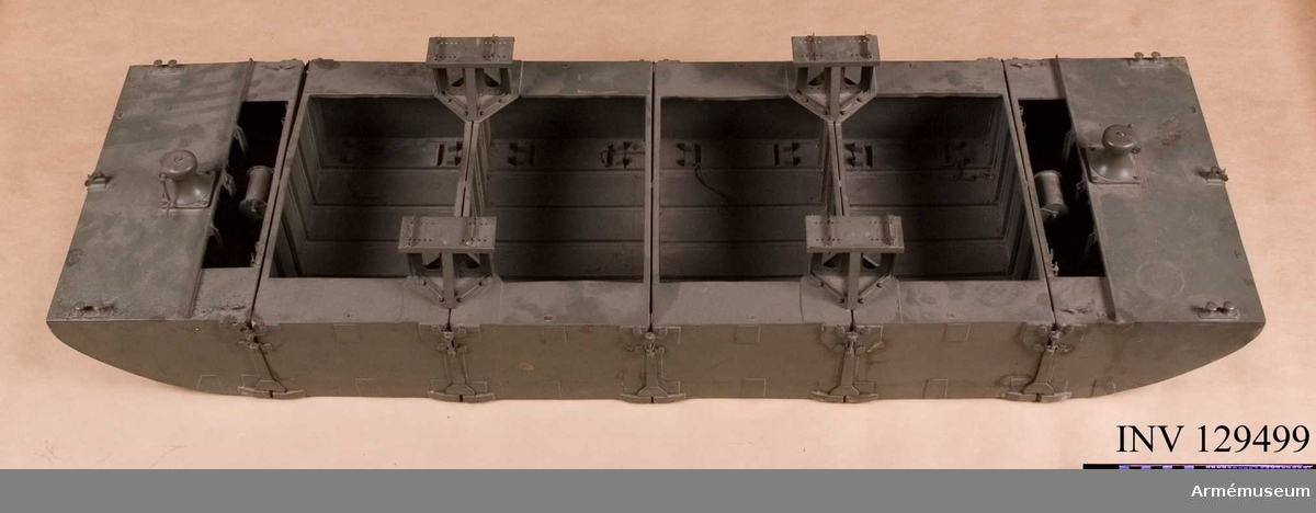 Del av landsvägsbromodell