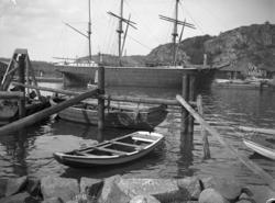 Uddevalla med Skansberget i fonden