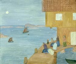 Till havs [Målning]