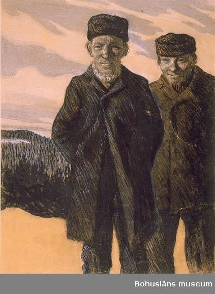 Bosjön, Värmland. Med största sannolikhet Smed-Jan och Smed-Karl. De bodde under ytterst torftiga förhållanden med sina familjer i små pörten vid en sjö några km från Bosjön och var de sista kvarvarande finsktalande ättlingarna till finska invandrare på 1600-talet. Uppgift från förmedlare boende i Bosjön, Värmland i januari 2012.