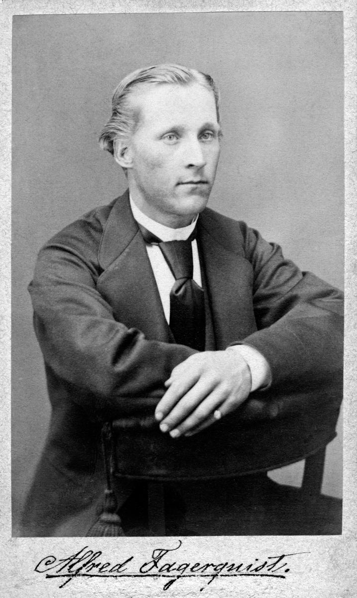 Porträtt av Alfred Fagerquist.