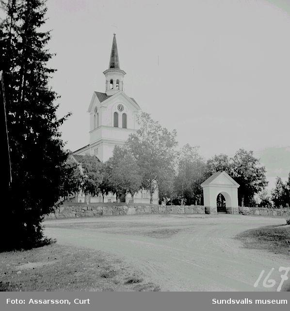 Njurunda kyrka fr. söder.