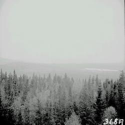 Vyer från Myckelmyrberget, 577 m.ö.h. Haverö.