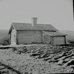 Ödetorp med norrkammare, i Lillro by, Selånger.
