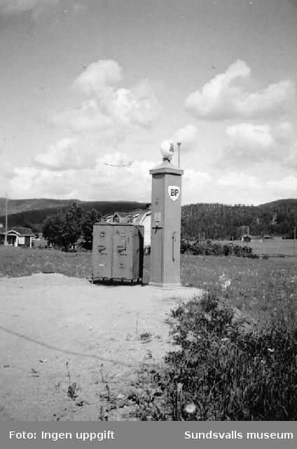 BP:s bensinstation i Viskan, Stöde.