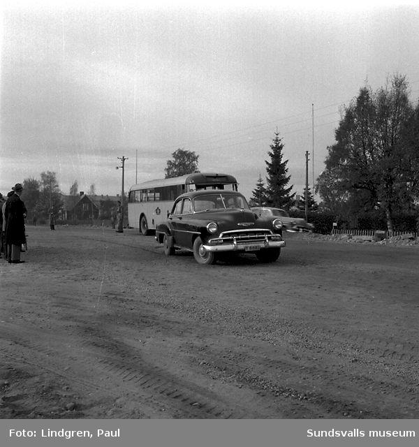 Bilolycka i Sörberge, Timrå.
