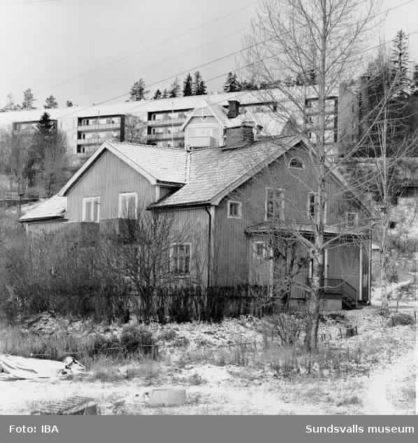 bostadshus HSB på Skönsberg 14/11 1972