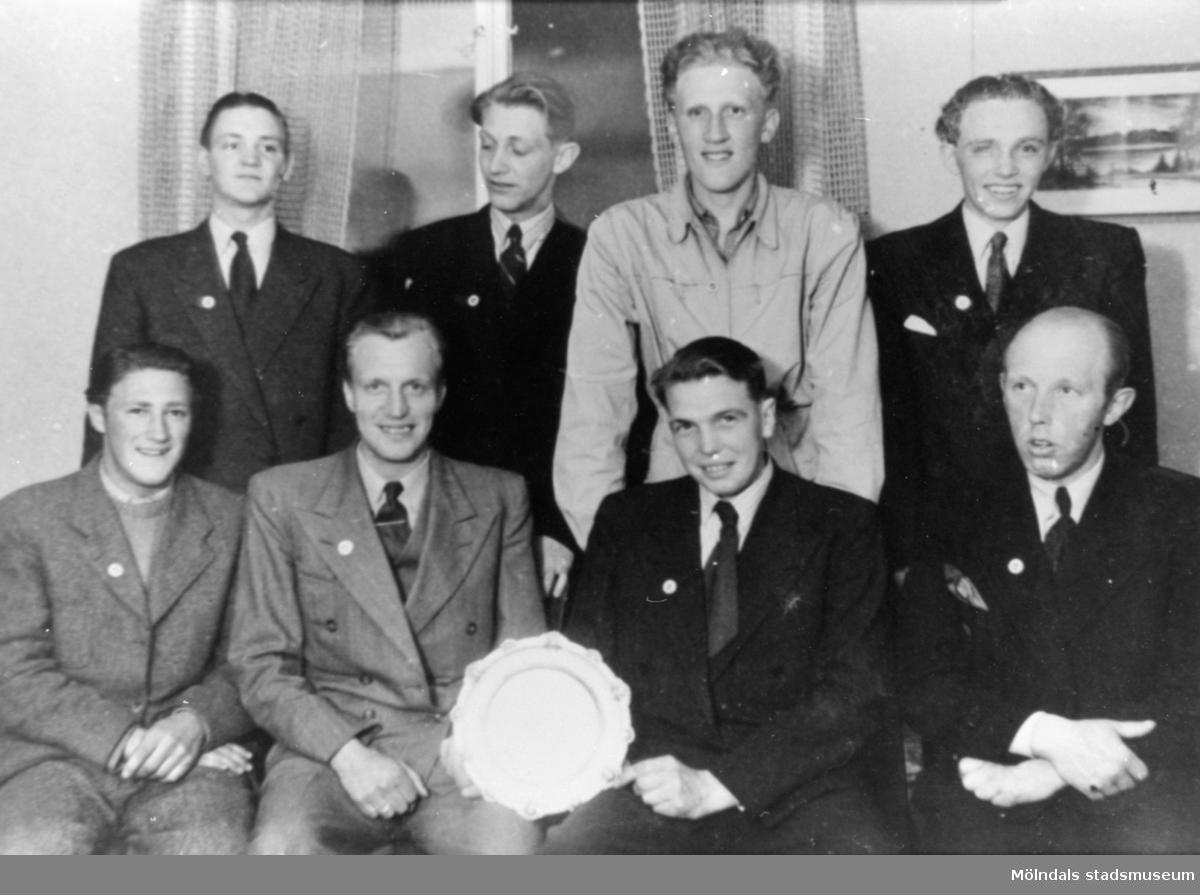 A.B. Pumpindustris fackliga verkstadsklubb, 1950-talet.