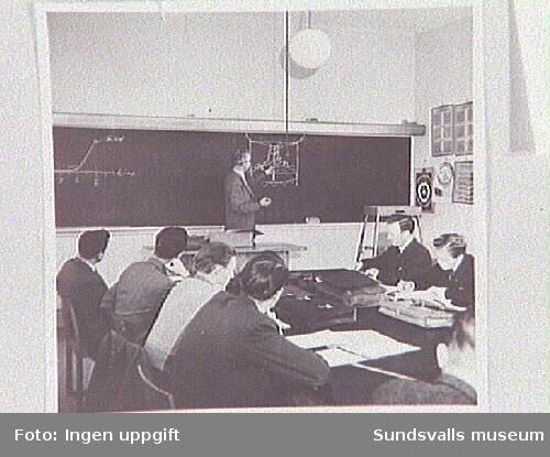 Undervisning på Polishögskolan i Stockholm.
