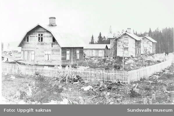 Egnahem, Hemmanet, Svartvik, uppförda 1912.