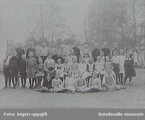 M4409 Matfors folkskola 1920 ca.
