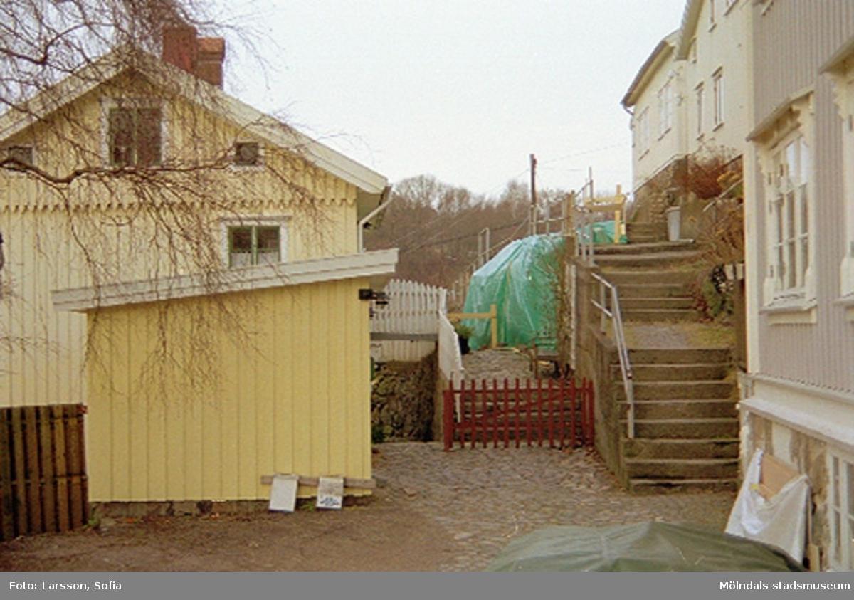 Staket stängsel staket : Studie av staket och stängsel - Mölndals stadsmuseum / DigitaltMuseum