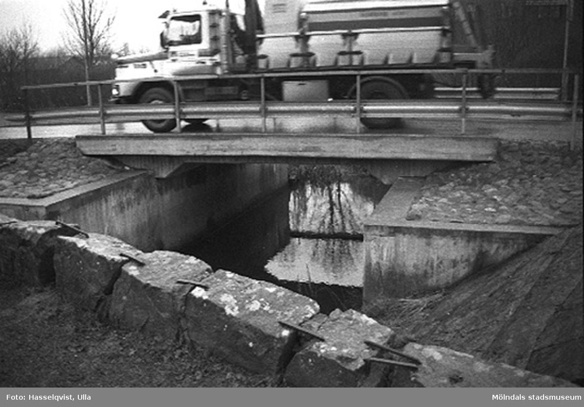 Skedebron från sydväst, 1996-01-16.