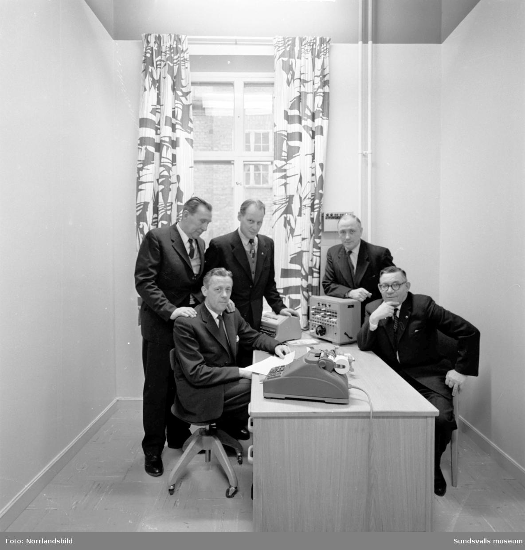 Gemensamt byggnadskontor för byggnadsarbetarna i Medelpad.