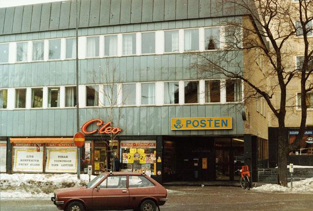 Postkontoret 824 01 Hudiksvall Stationsgatan 1