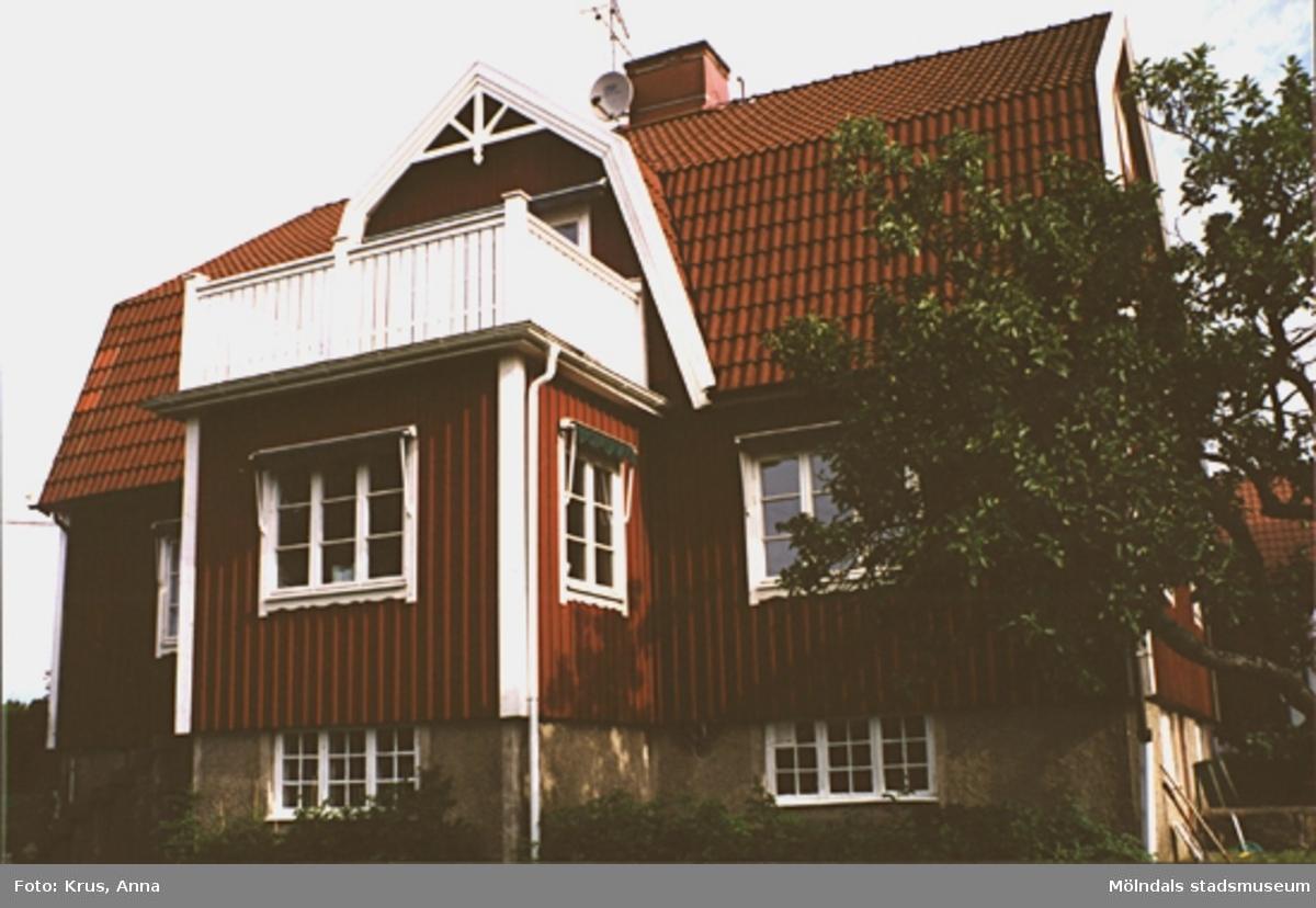 Fässberg 1:65. Boningshus sett från söder.
