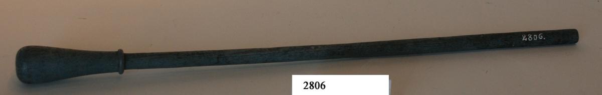 Vindare till brännarehylsor, 2-lödig, av trä.