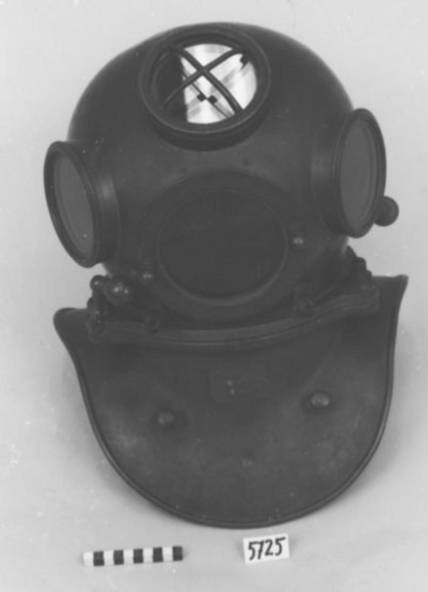 Dykarhjälm, Deutsches Reich Patent July 2. 1877.