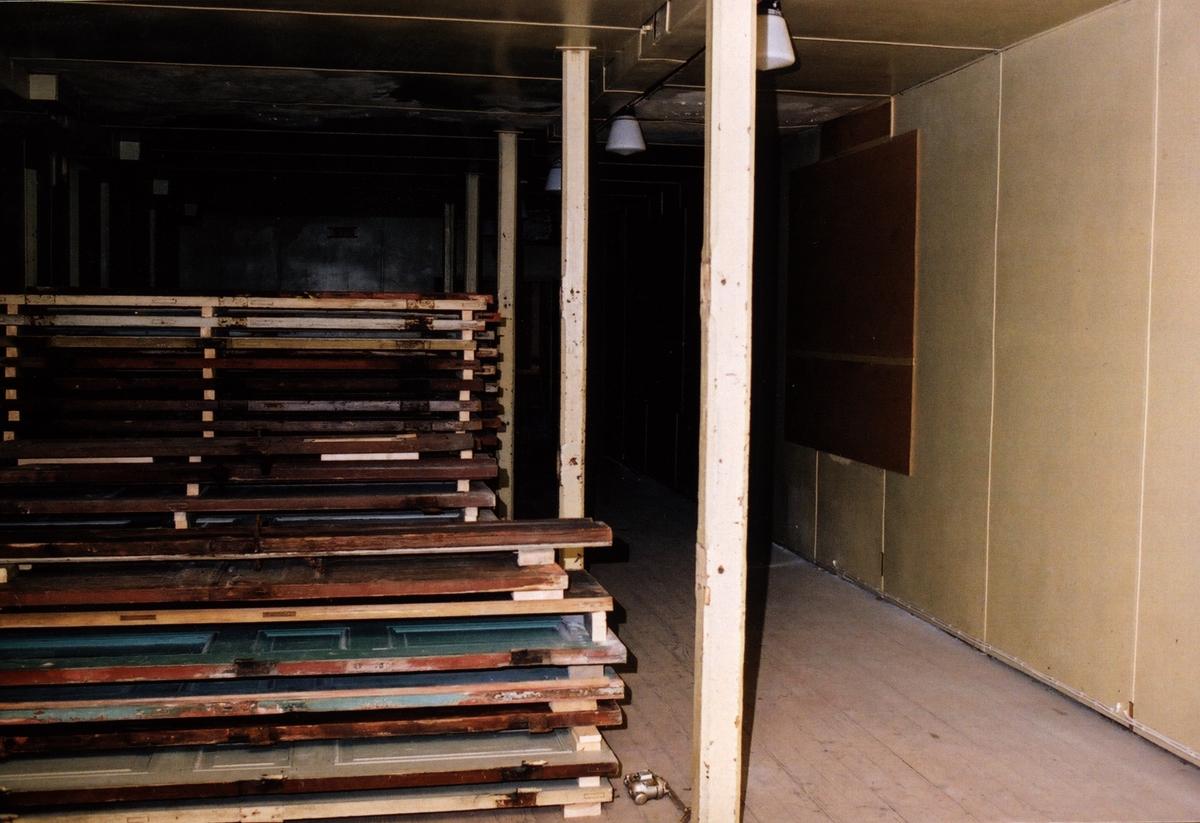 Dokumentation av Västra Hästholmen, KA-anläggning som är nedlagd
