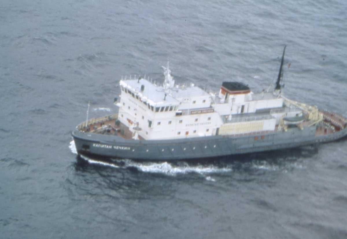 Russisk fartøy av Kapitan Chechkin - klassen som heter Kapitan Chechkin.
