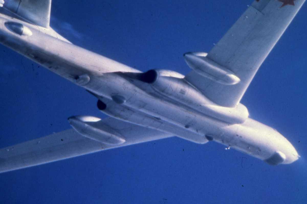 Russisk fly av typen Badger E.