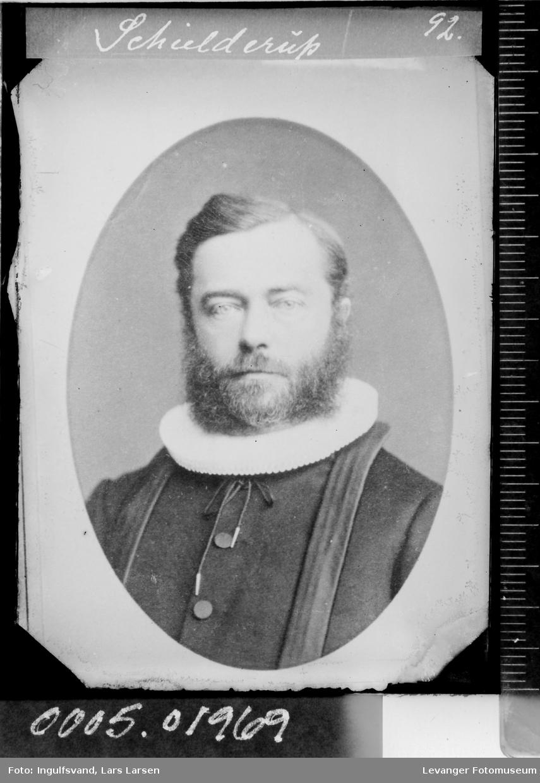Portrett av en prest.