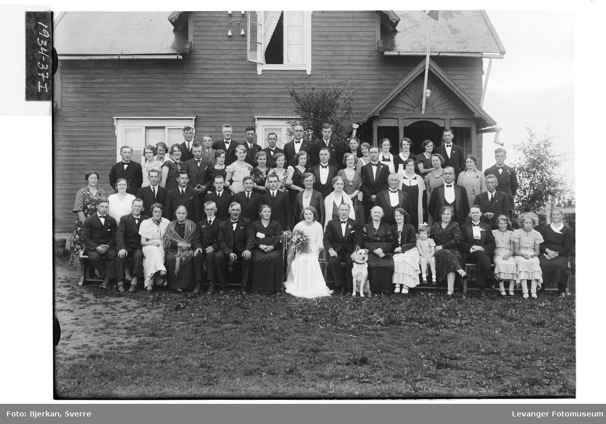 Brudeparet Wikdahl på Nordhaug