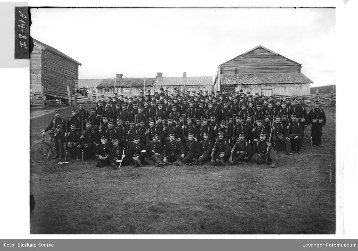Bilder fra muilitær øvelse i Verdal høsten 1905 IX