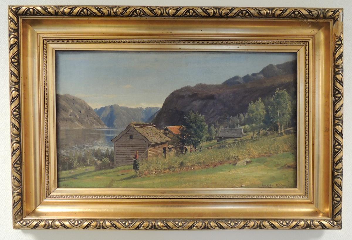 Seter, fjell og fjord.