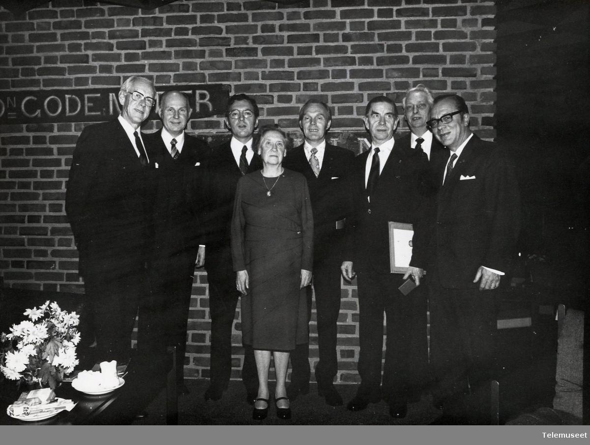 IBM - 25 års Klubb jubilanter. Middag - Næjorden 1975