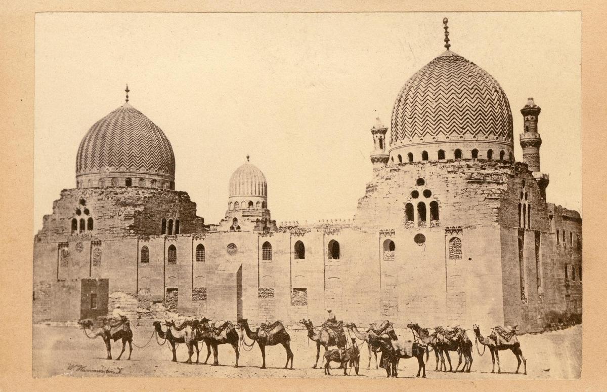 Kairo. Moské Sultan Barkouk