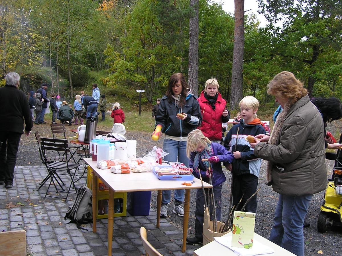Høstferie på Berg - Kragerø Museum. Oktober  2008.