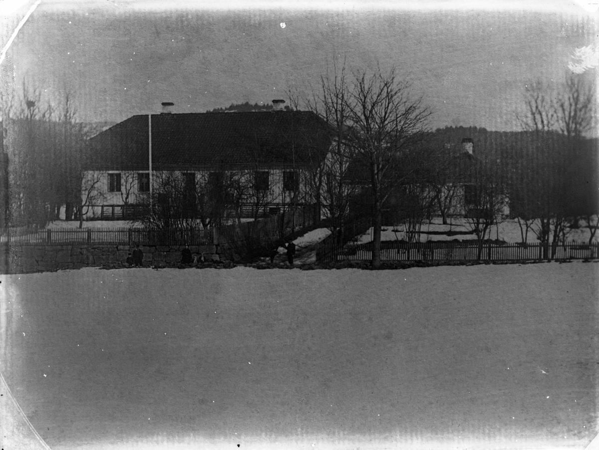 Bolighus. Bratsberg gård (repro).