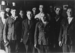 Mai-juni 1945. Fra krigfangeleiren i Namsos.