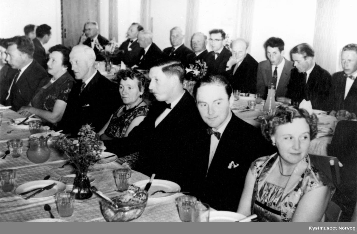 Innvielsen av Kovereid Samfunnshus i 1959
