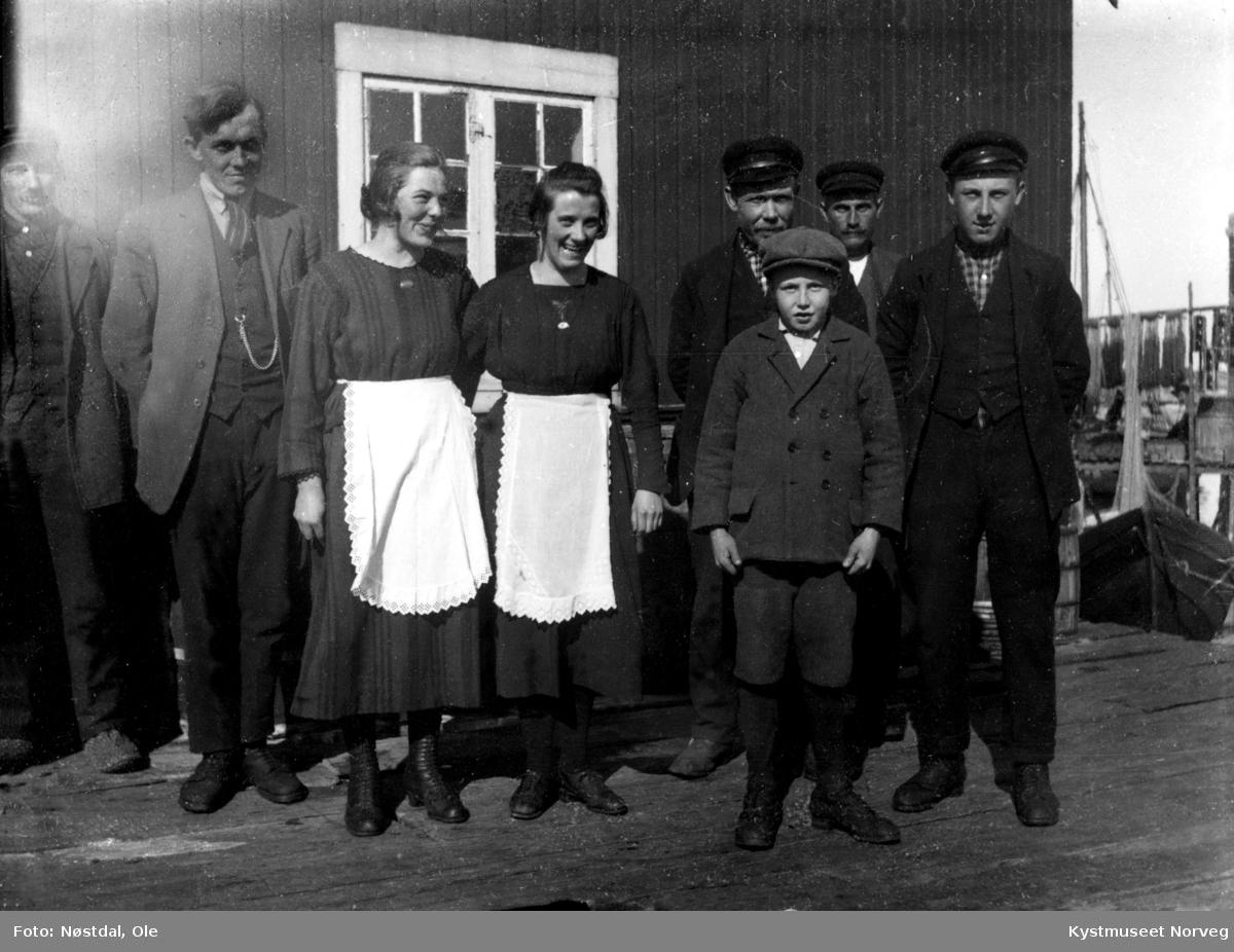 Sør-Gjæslingan, ukjente fiskere og kokker