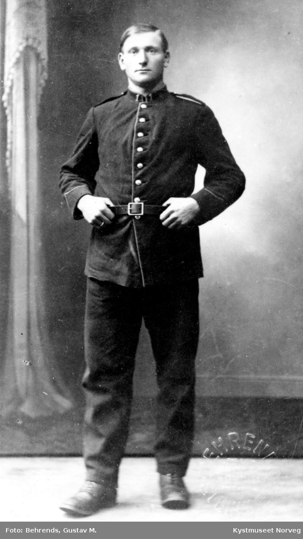 Ragnar Gravset i uniform