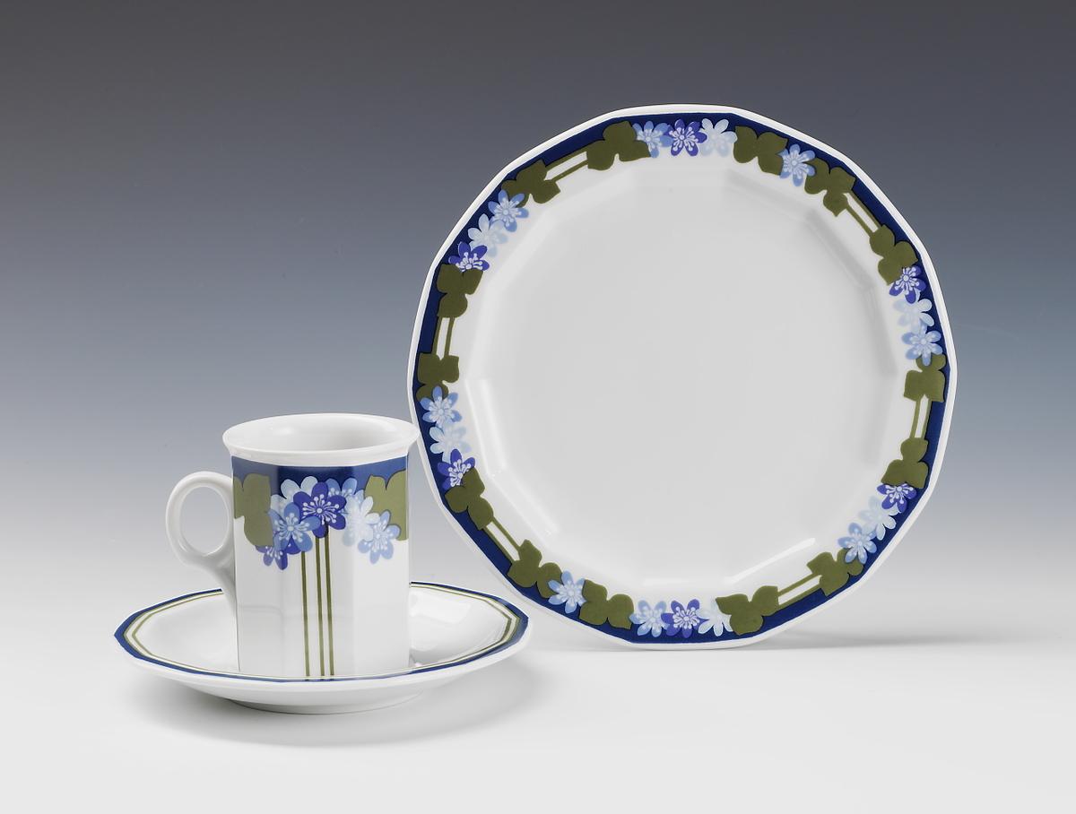 Blå Anemone [Servise]