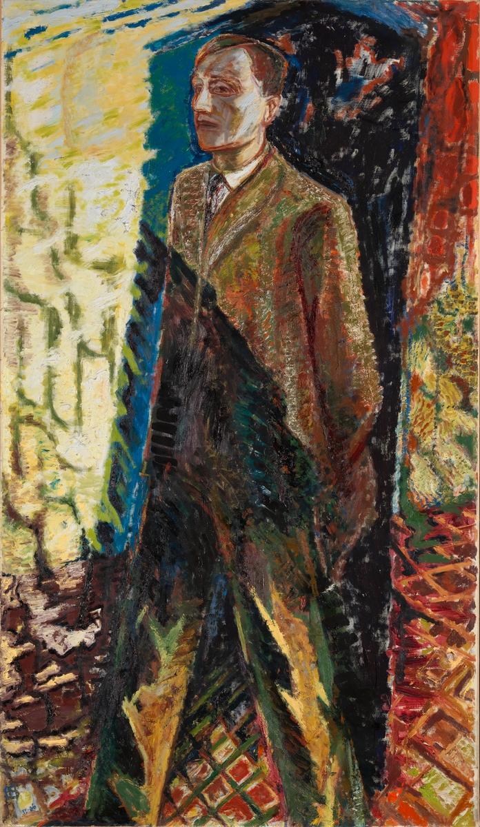 Forfatteren Sigurd Christiansen [Maleri]