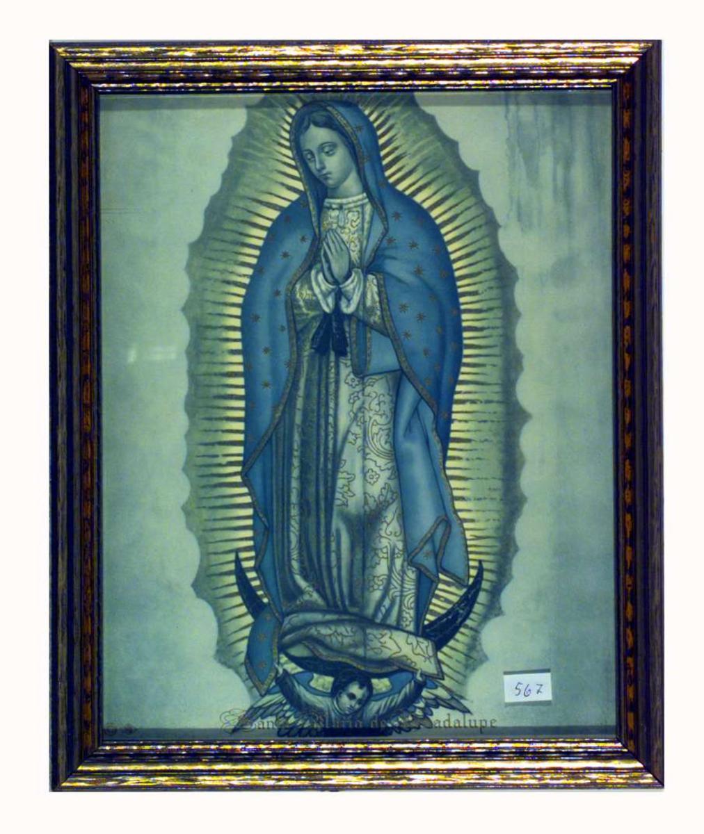 Den hellige Maria av Guadalupe