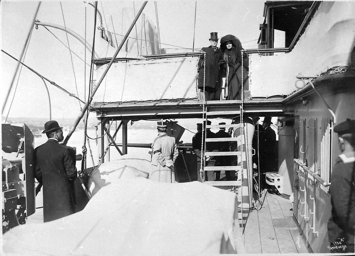 Panserskip, Norge, menn, kvinne,