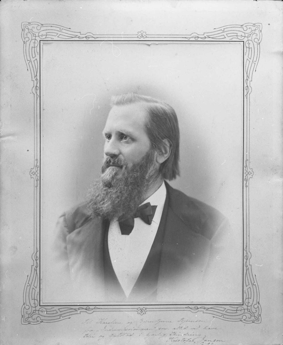 Kristofer Janson, portrett
