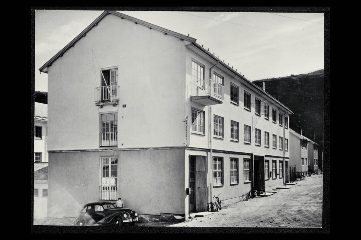 eksteriør, postkontor, 9600 Hammerfest, postkasse