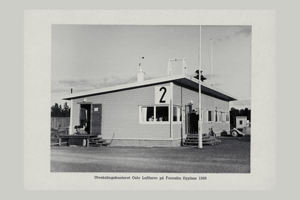 eksteriør, utvekslingskontor, Oslo lufthavn, Fornebu
