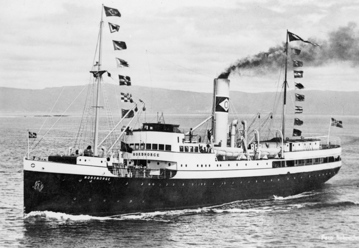 transport, båt, hurtigruteskipet Nordnorge