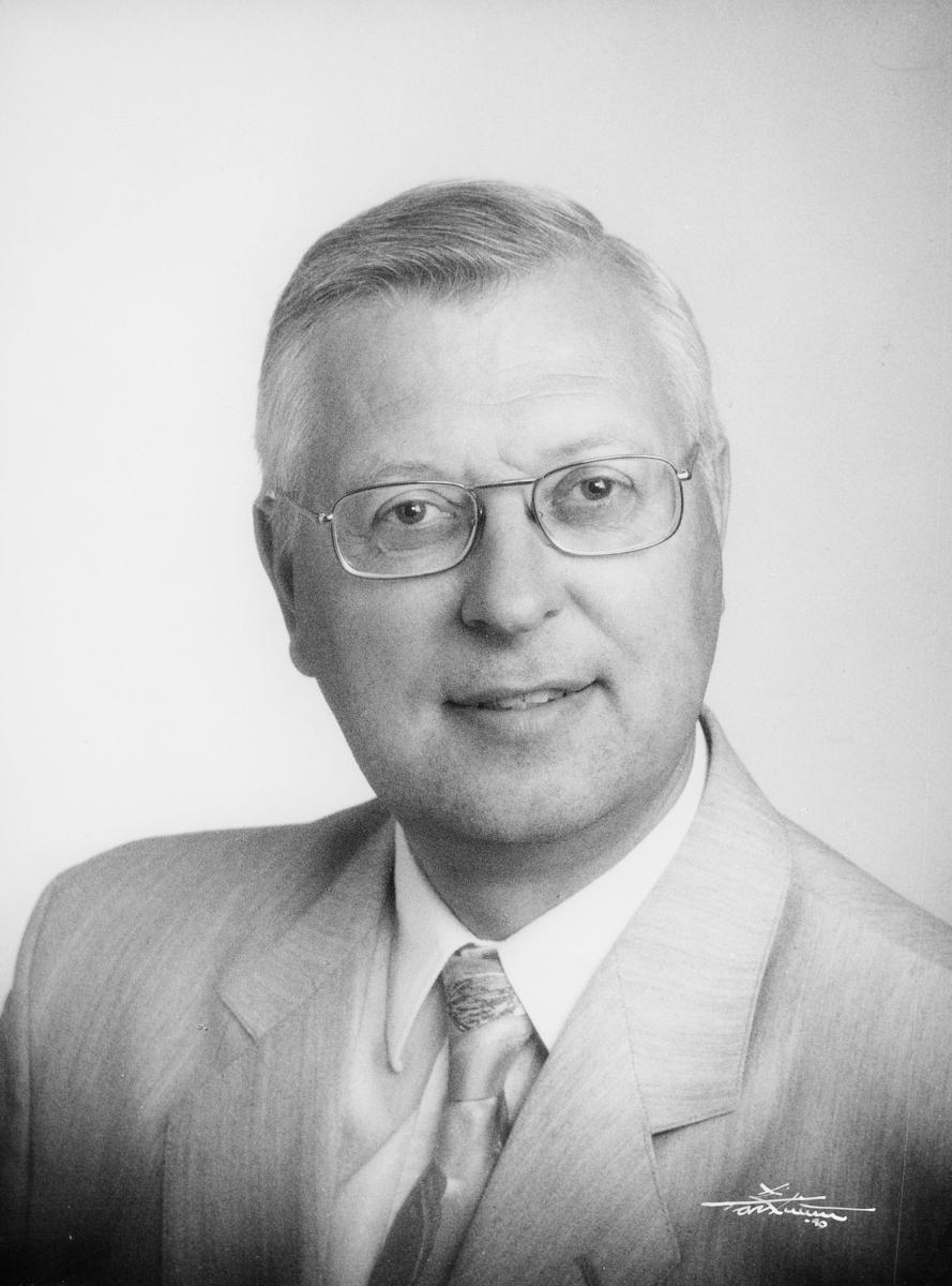 postsjef, Gjerdrum Jan Asbjørn, portrett