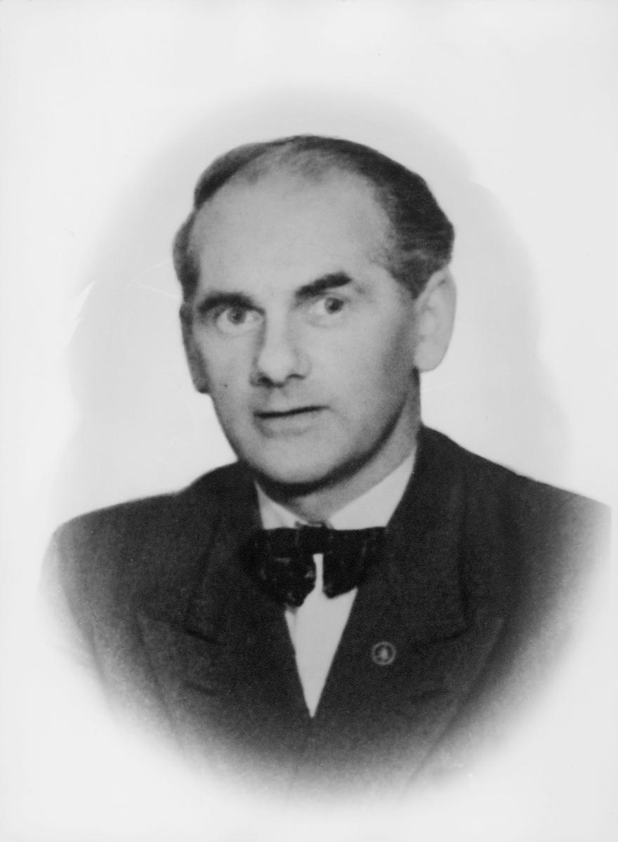 postmester, Johnsen Asgrim Parelius, portrett