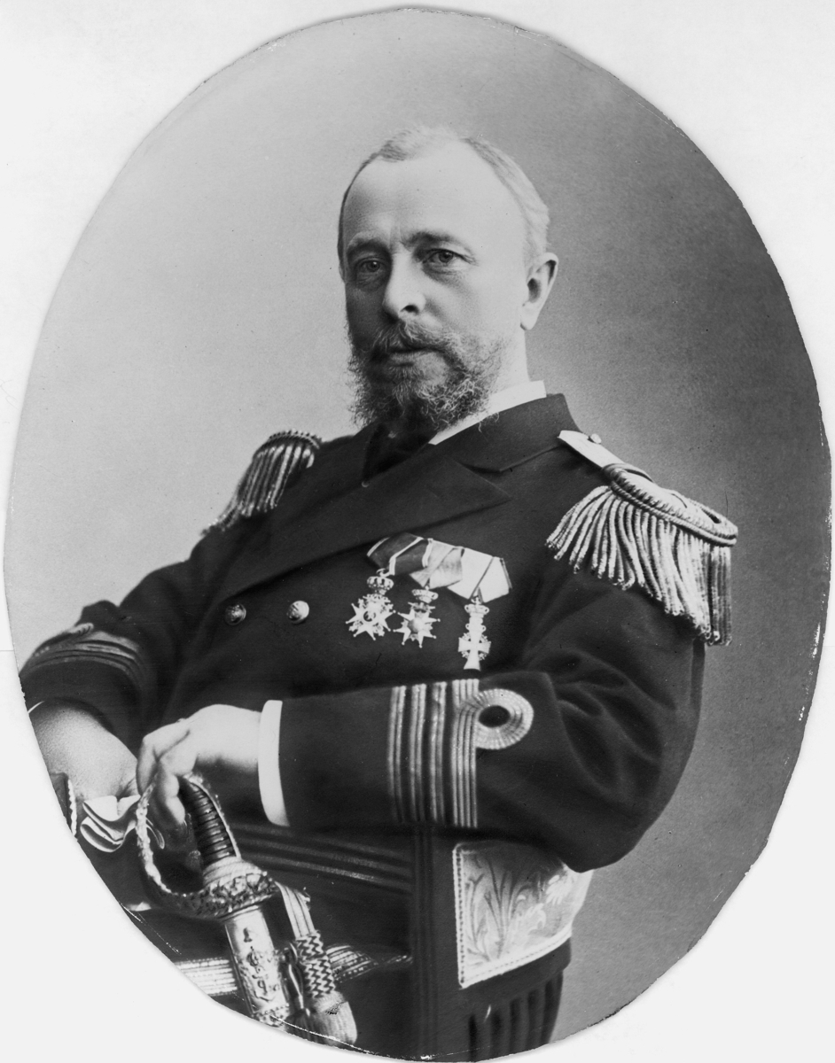 sjøoffiser, kaptein, konsulent, kommandør, Horn Wolfgang, portrett