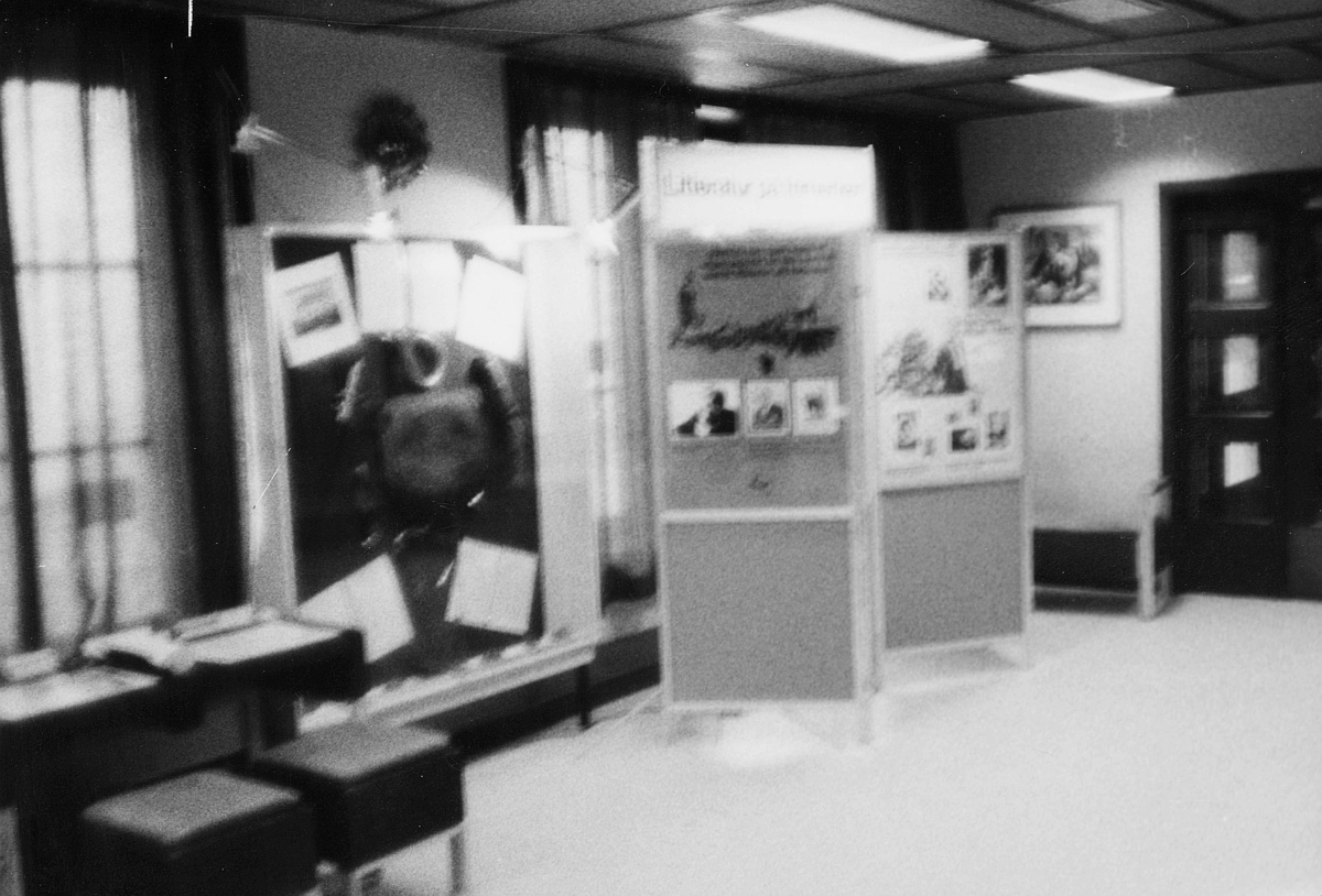 markedsseksjonen, utstilling, Johan Falkberget 100-års jubileum, postkontor, 7460 Røros