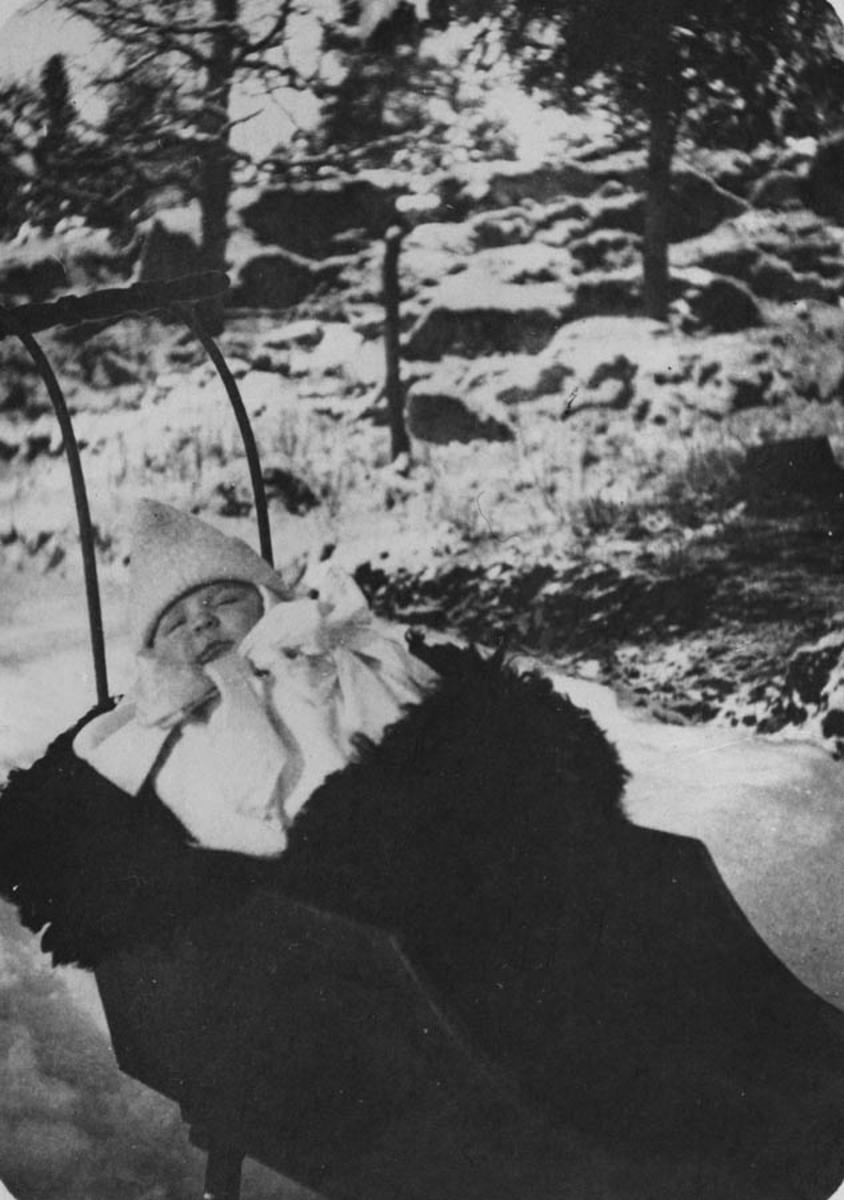 Petter Bjørnstad i sluffe.